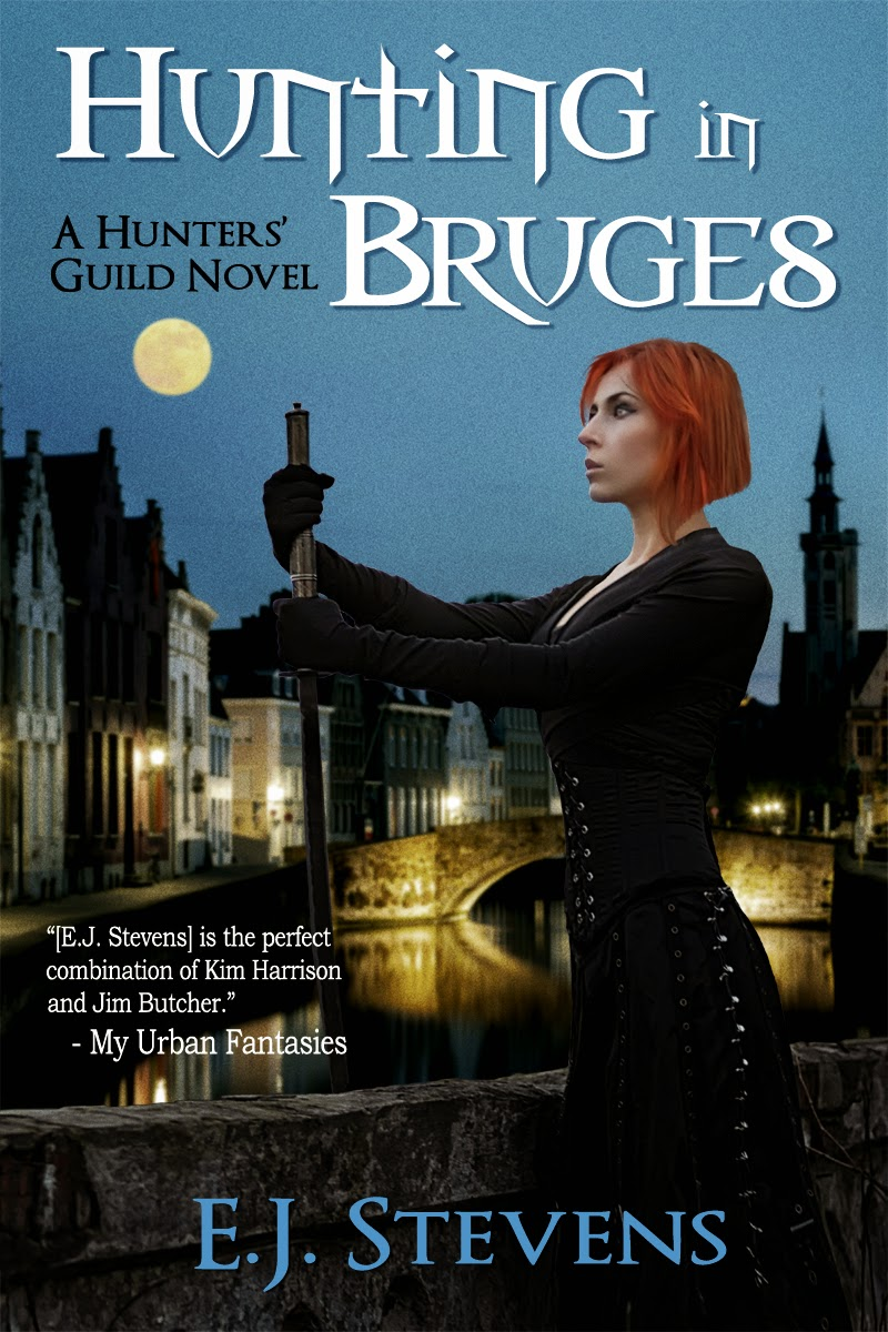 Hunting in Bruges Release Party Giveaway