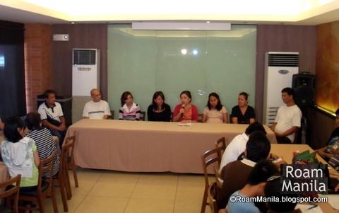 Villar Foundation Press Conference
