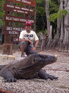 At Komodo Island