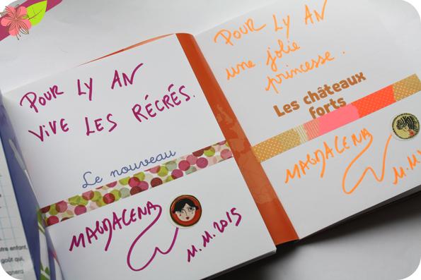Dédicace de Magdalena - Salon Lire en poche 2015 - Gradignan