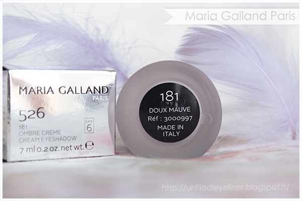 Maria Galland - Le Maquillage Rêves d'Été Ombre Creme 181 - Doux Mauve