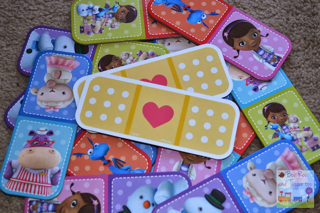 Doc McStuffins Sharing is Caring Dominoes Game