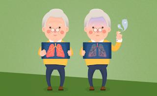 Motivos para o Idoso parar de fumar