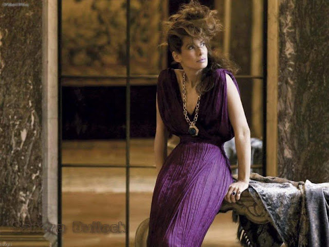Sandra Bullock Sexy in dress