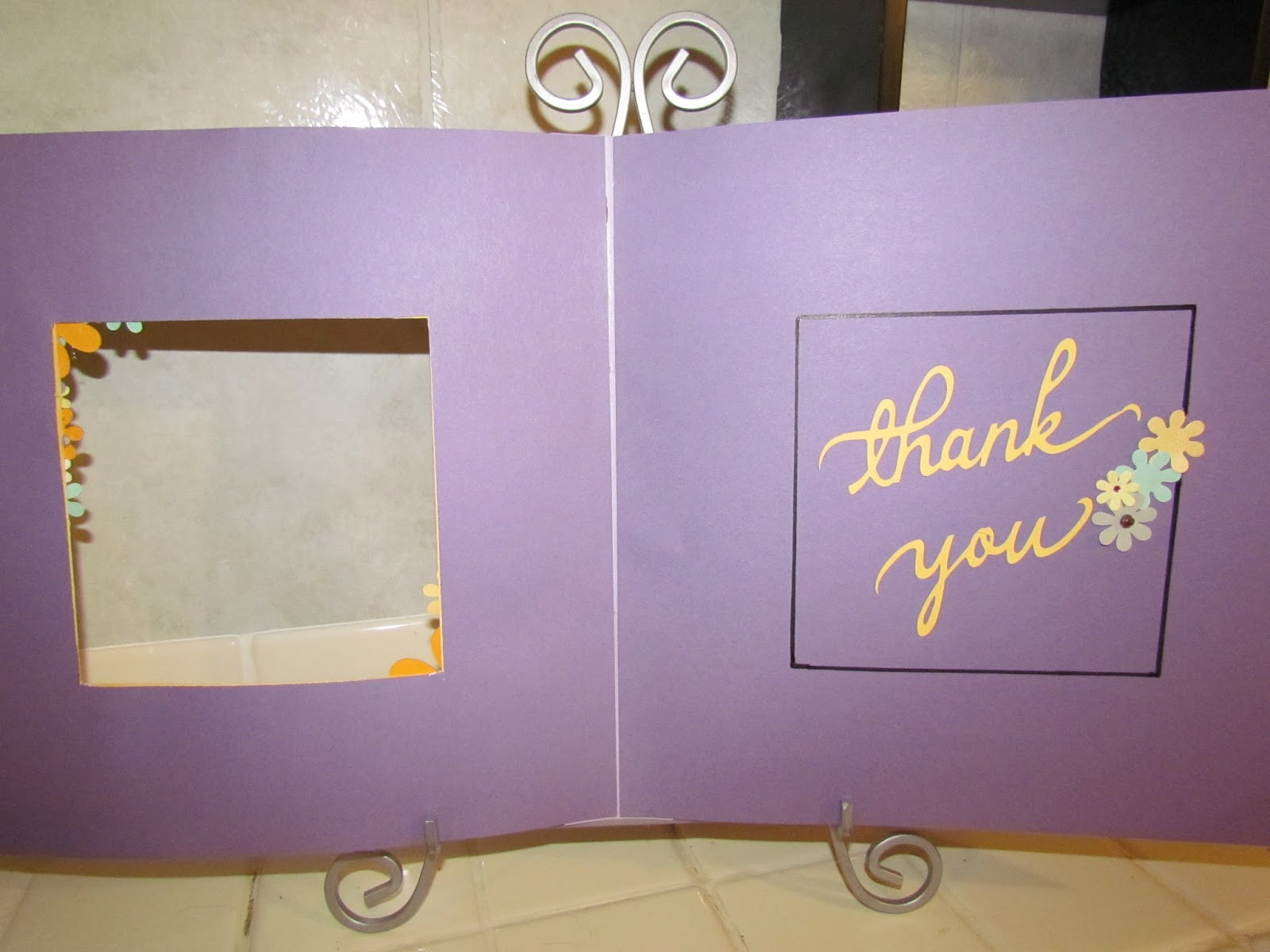 Scrap 4U: Thank you cards for teachers