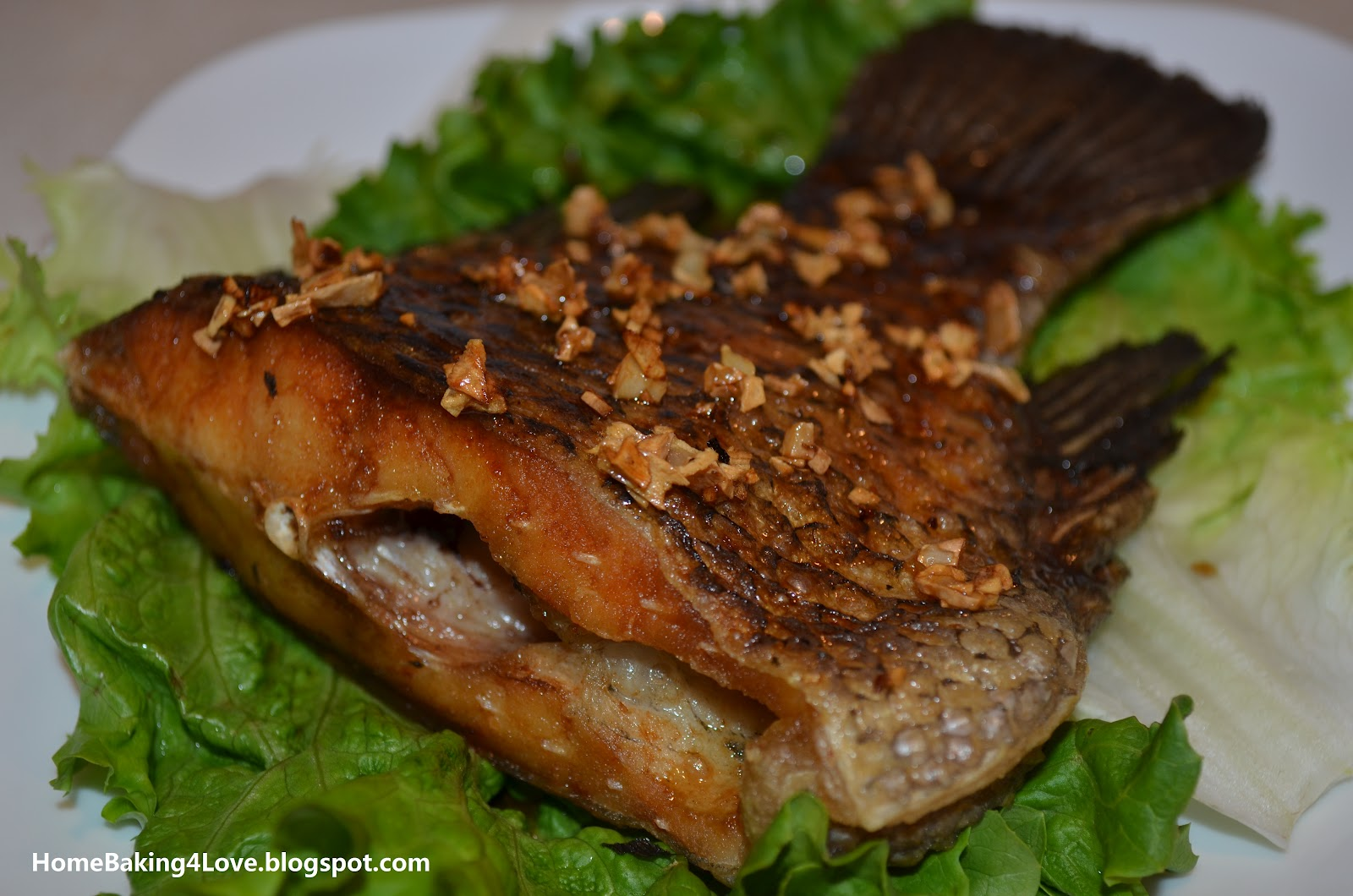 ... simple deep fried fish it is incredible that a deep fried fish with
