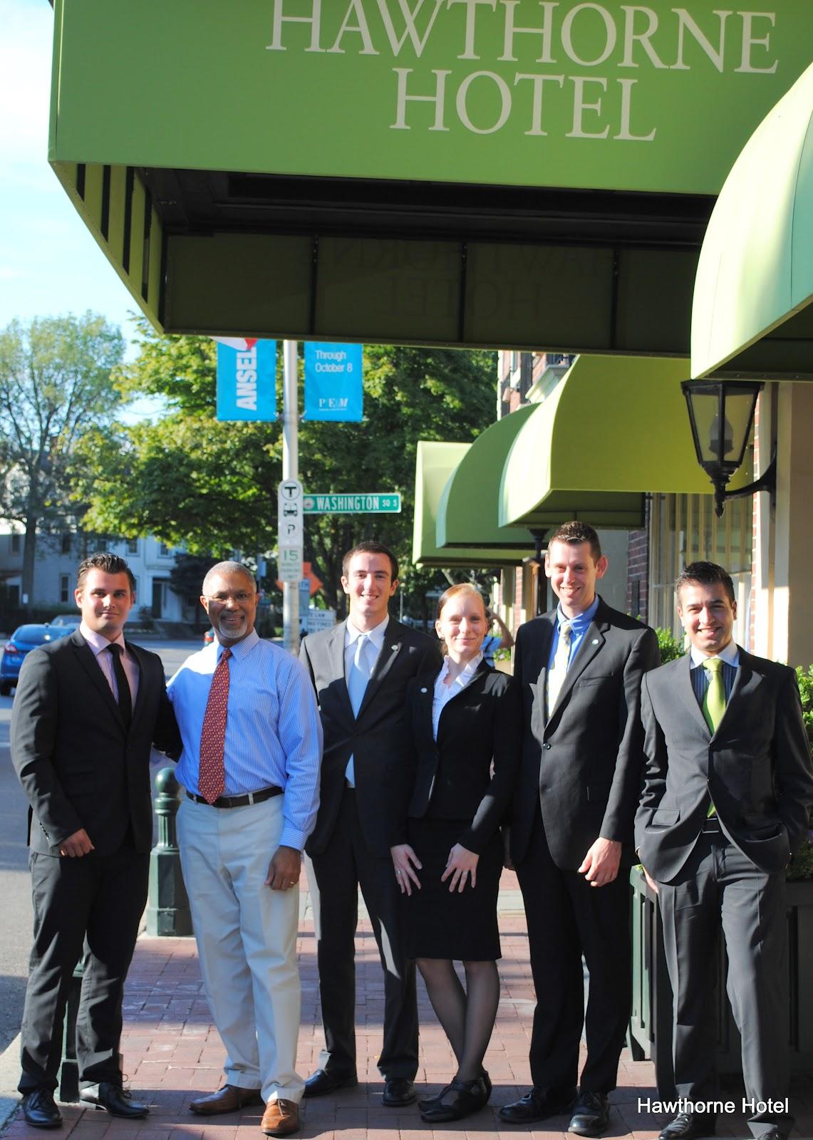 Hawthorne Hotel: Endicott Students Field Trip to Hawthorne Hotel