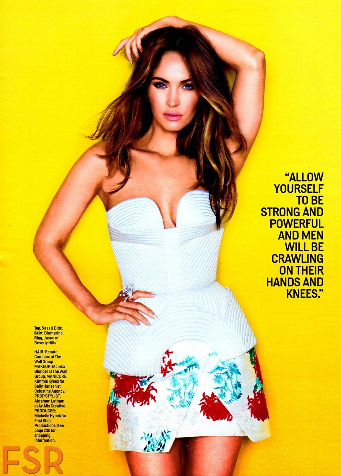 Megan Fox Cosmopolitan US August 2014