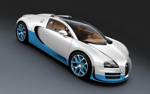 2012 Bugatti Veyron Grand Sport Vitesse Bianco