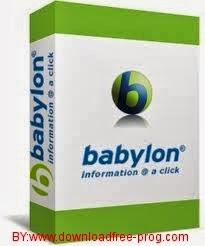 تحميل برنامج Babylon Pro 10.0.2 R0 للترجمة الفورية