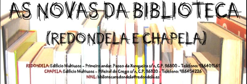 NOVAS DAS BIBLIOTECAS