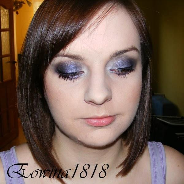 Eowina1818 Fiolet I Srebro Makijaż Dla Zielonych Oczu