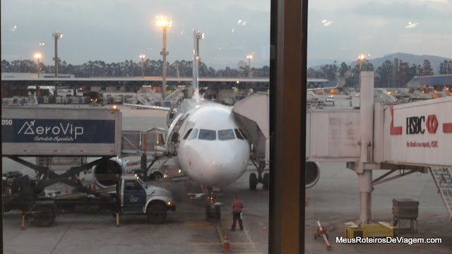 Airbus A320 da TAM em Guarulhos