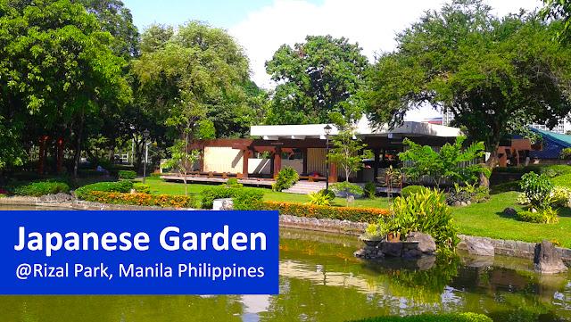 Japanese Garden at Rizal Park, Manila Philippines