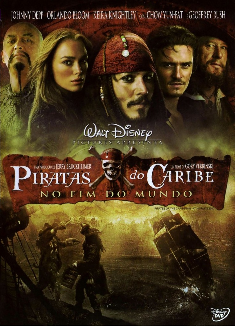 Piratas do Caribe 3: No Fim do Mundo – Dublado (2007)