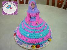 BARBIE CAKE (RM120)