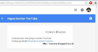 Cara menghapus channel youtube dengan mudah3