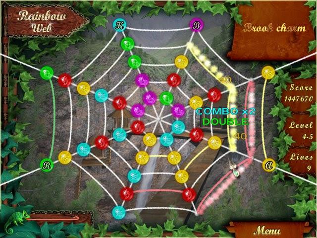 Rainbow Web - Play Online scramble game