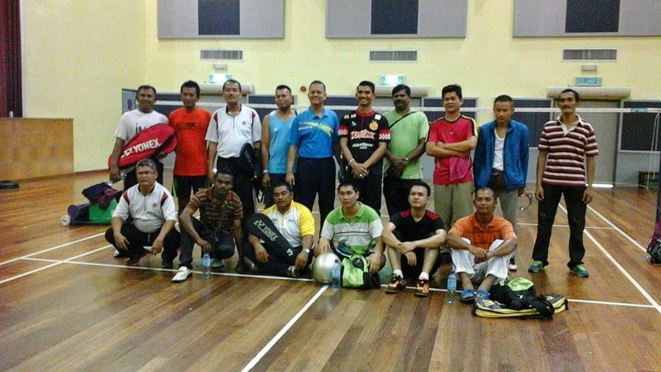 Intervensi ODP - Latihan Badminton Parol WPKL