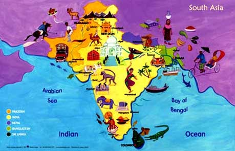 a geographic and cultural overview of pakistan an asian country The current territories of afghanistan, bangladesh, bhutan, maldives, nepal, india, pakistan, and sri lanka form south asia the south asian association for regional cooperation (saarc) is an economic cooperation organisation in the region which was established in 1985 and includes all eight nations comprising south asia.