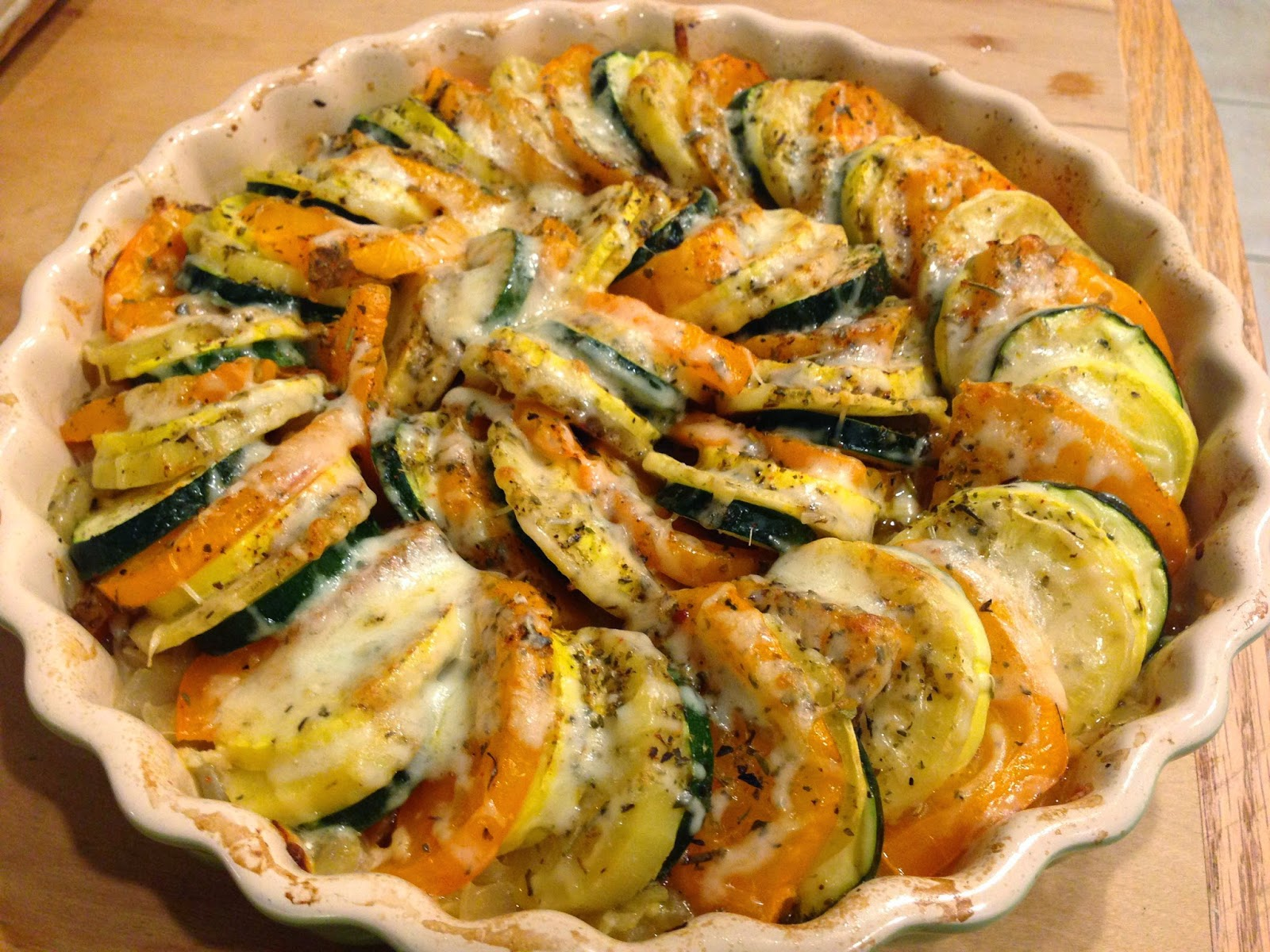 The Blue Muse: A must-make recipe: Vegetable tian