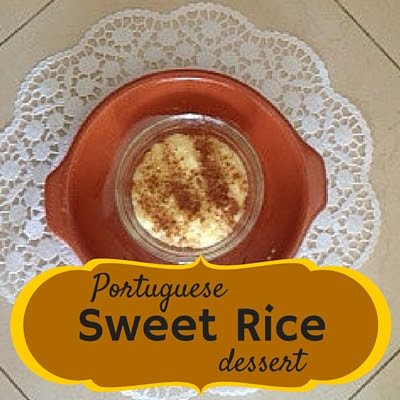 portuguese sweet rice, desserts, recipes