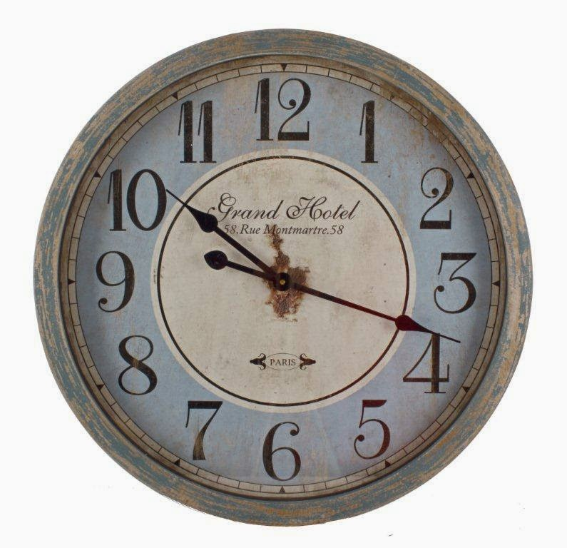metalowe zegary