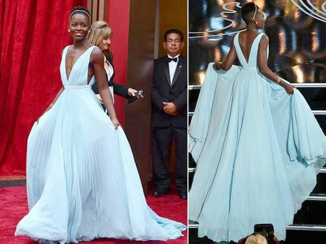 Vestido do Oscar - 2014
