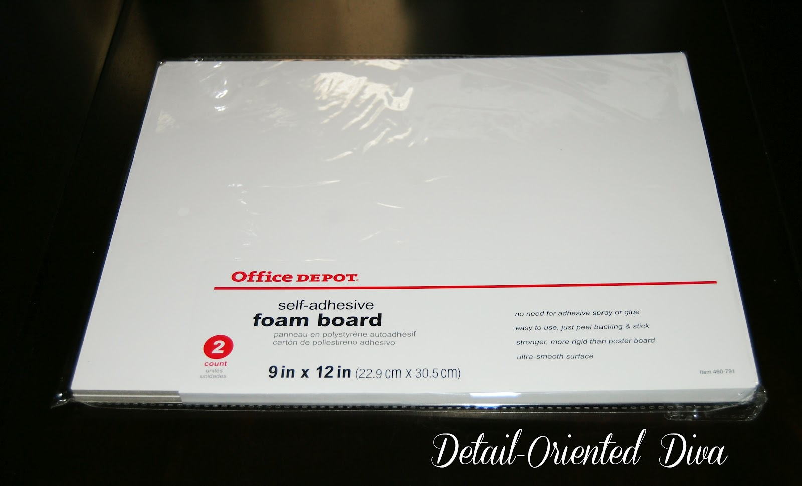 Office depot black poster board