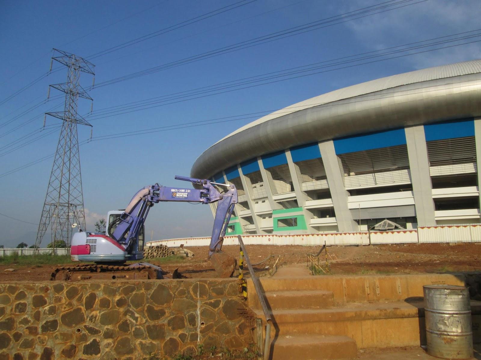 Inilah foto terbaru stadion gelora bandung lautan api yang saya ambil ...