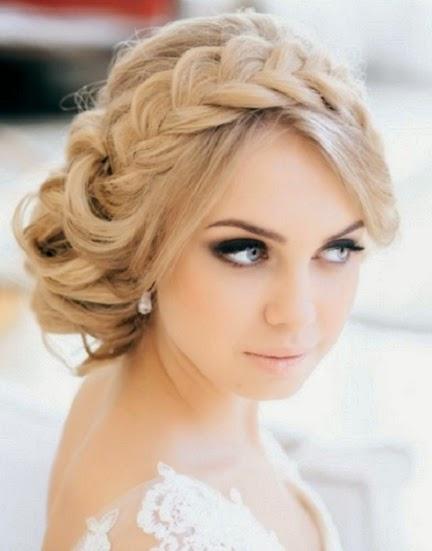 peinado invitada de novia trenzas