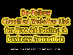 Dofollow classified sites