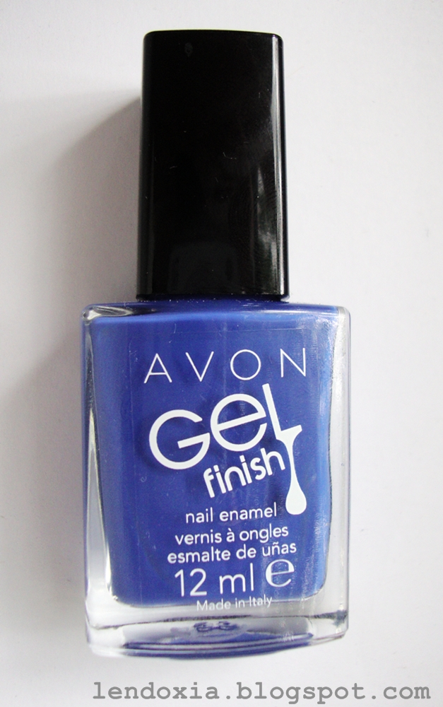 Avon Royal Vendetta gel finish nail polish