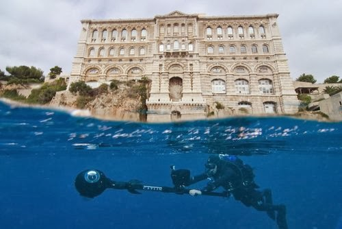 After Barrier Reef, it is the turn of the seabed of the Principality of Monaco to soon join the Google Street View service.