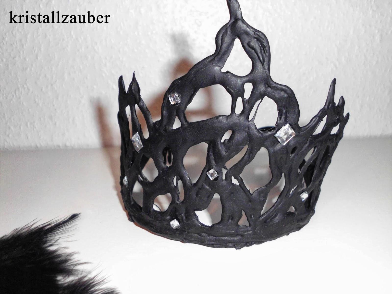 Kristallzauber: {DIY} Böse Königin/ Black Swan - Krone