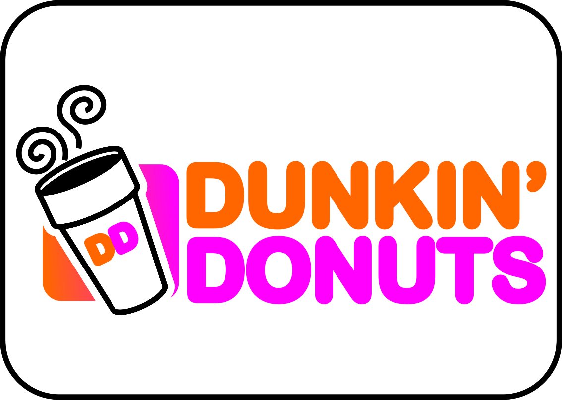 membuat logo dunkin donuts share sandi