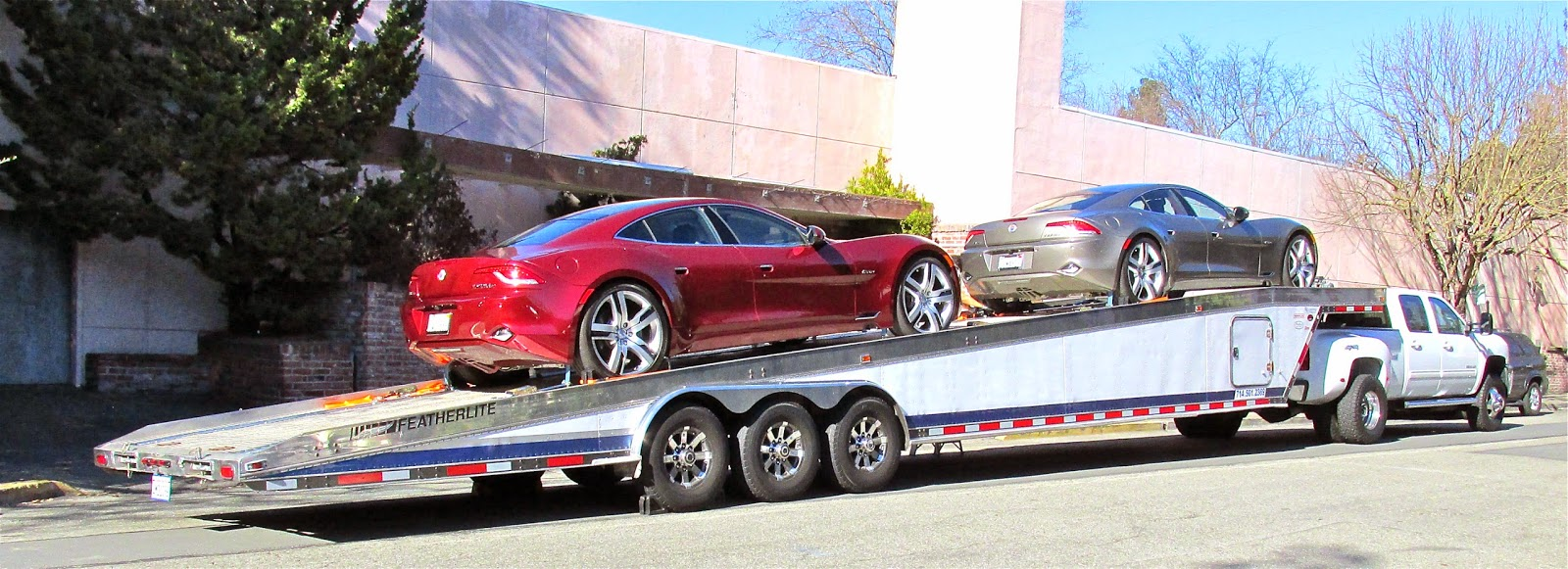 Car Hauler News Awesome Pics Of Old Cars Tied Down To A Wedge Car