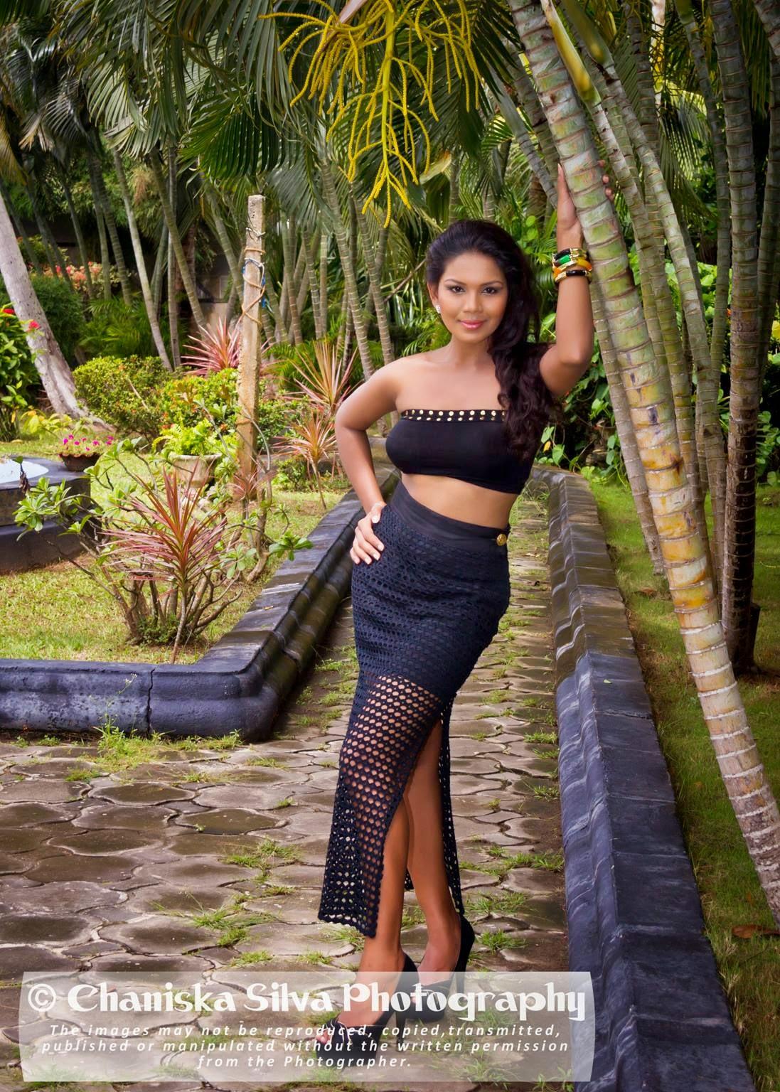 Imasha Dilshani black hot