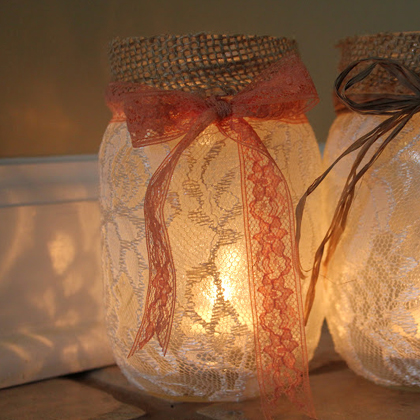 How To Make Mason Jar Luminary