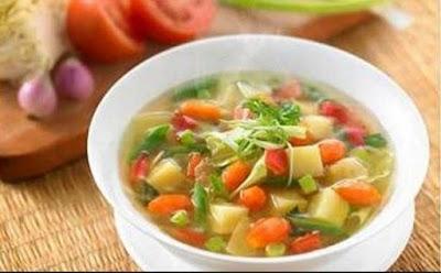 3 Sup Ampuh untuk Turunkan Berat Badan
