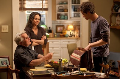 Sally Field (Tía May) - Martin Sheen (Tío Ben) - Andrew Garfield (Peter)