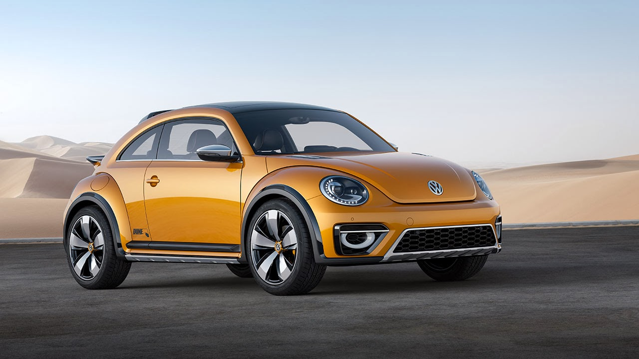 Volkswagen Beetle Dune Concept Car side