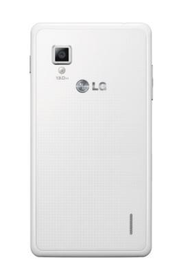Edición con trasera en blanco del LG Optimus G, exclusivo para Orange