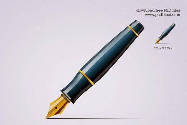Pen Icon PSD