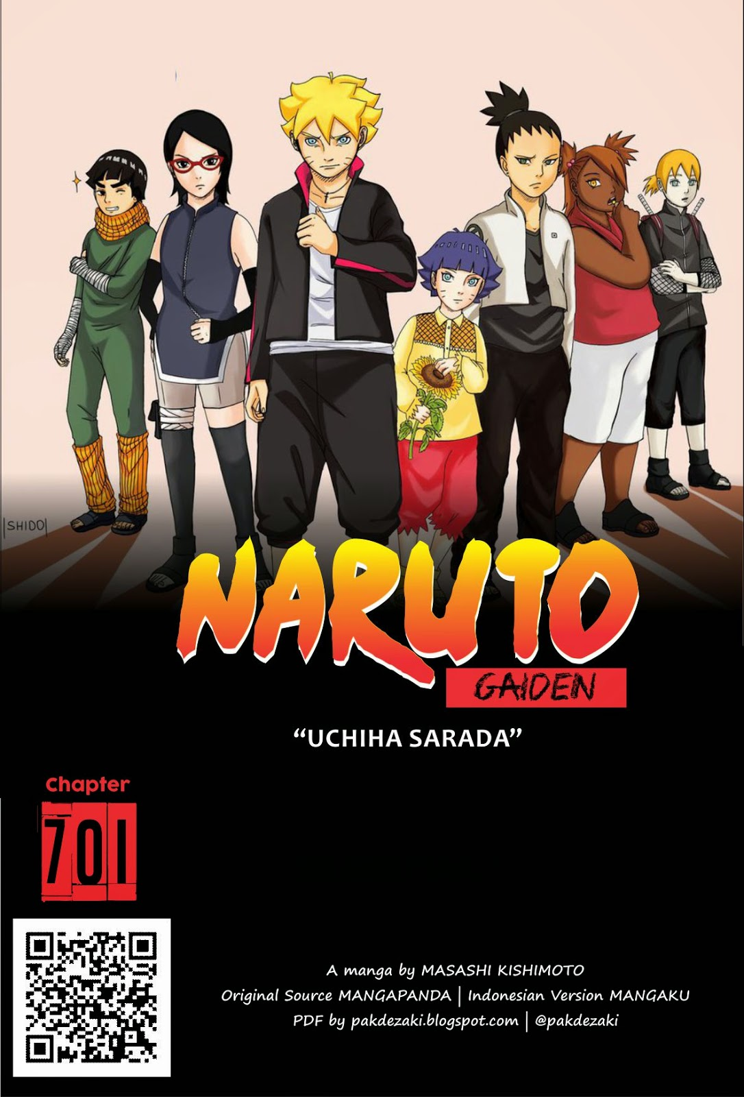 Download Komik Naruto Gaiden PDF