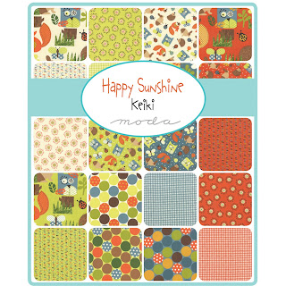 Moda HAPPY SUNSHINE Fabric by Keiki for Moda Fabrics