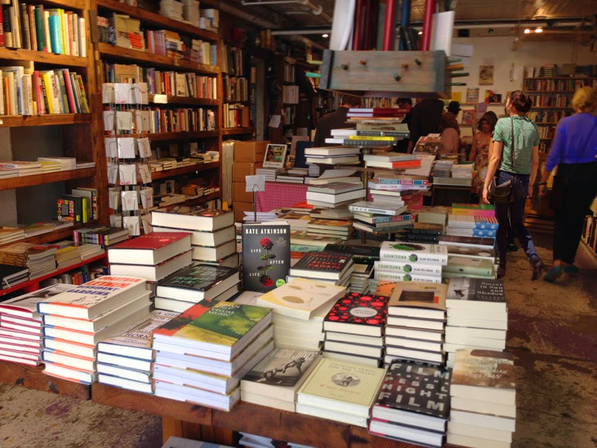 Williamsburg shopping - Spoonbill Bookstore - Bedford Ave