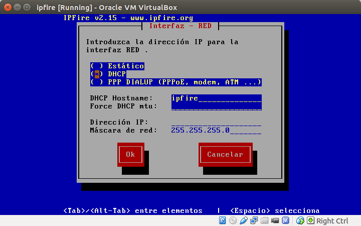 DriveMeca instalando Ipfire paso a paso