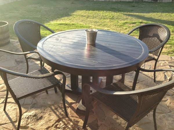 Thou shall craigslist thursday may 01 2014 for Outdoor furniture austin