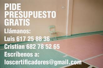 Certificado Energético Segovia Madrid. Presupuesto gratis: